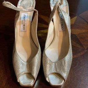Jimmy Choo sparkly heels size 41 GUC